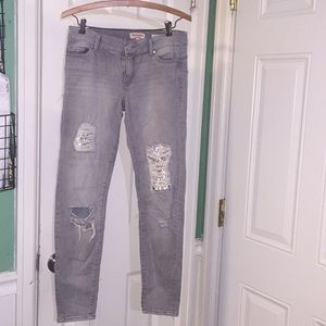 Juicy couture cropped jeans women's 4 length 29
